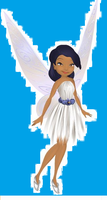 Me as a pixie from Pixie hollow by raelynn109
