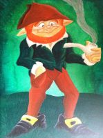Leprechaun Painting by IrishBecky