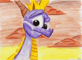 Smile from classic times by IcelectricSpyro
