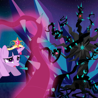 Princess Twilight Drained by the Vines [ANIMATED] by DashieMLPFiM