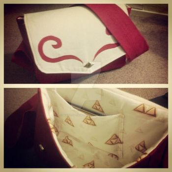 Wind Waker Delivery Bag by bekalou-cosplay