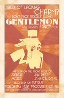 Gentlemon: Art Deco by MidnightSukioma