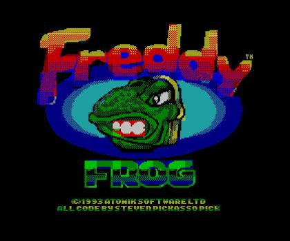 Freddy Frog Speccy Title by pickassoreborn