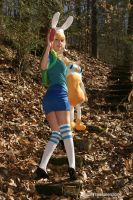 Fionna The Human:  Stairway to Adventure by HarleyTheSirenxoxo