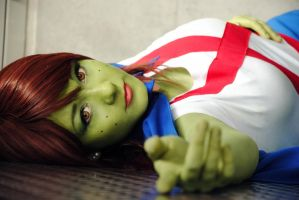 YJ: Miss Martian VI by Aigue-Marine