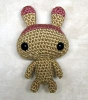 Pudding amigurumi by Eudocia