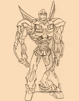 TFP Bumblebee WIP by arcobalenosassemble