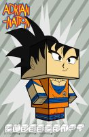 Son Goku template by ADRIAN-NATION