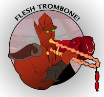DP10: Flesh Trombone by pegla