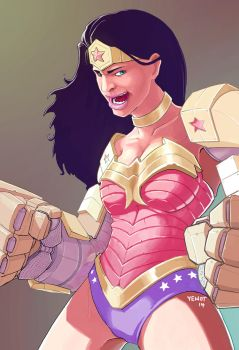 Robo Wonder Woman by yewot