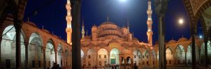 blue mosque by ozycan