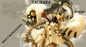 BlazBlue BL Colors - Taokaka by Rarutos