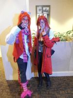 Cheshire Grell and Grell (Tekko 2012) by JoeZep5