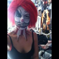 Clown Makeup by captainsarasparrow