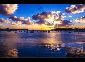 Sunset in Noumea by pierrebernut