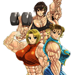 Muscle Girls by S20K00Y by elee0228