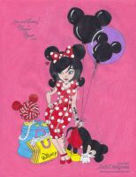 Minnie Mouse by ilovepinkhair
