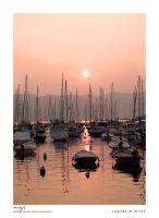 :: sunset in lerici by moiraproject