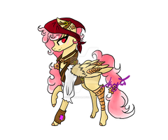 Steampunk pony adopt 1 Auction CLOSED by DafinasPride