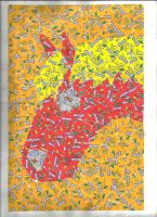 Maoam wrapper horse collage! by mgilbertart