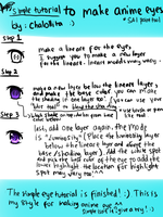 Simple eye tutorial by chalollita