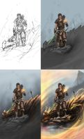 skyrim steps by thegameworld