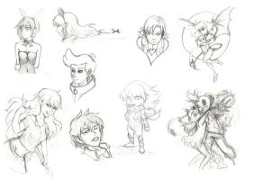 Sketches 001 by lucky1717123