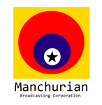 Logo of the Manchurian Broadcasting Corporation by kyuzoaoi