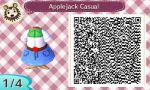Animal Crossing: New Leaf Apple Jack Casual by renaxakai