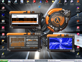Half Life 2 media player by Kyle-the-hedgehog