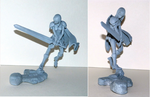 Claymore Clare figure by Jambal