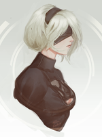 2B Sketch by raikoart