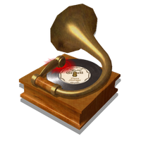 Steampunk Music Player Icon by pendragon1966