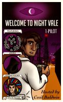 Welcome to Night Vale - 1950's Comic Cover by Owl-Publications
