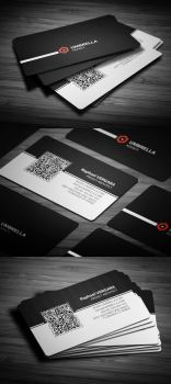 Qr Corporate Business Card by calwincalwin
