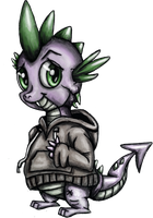 Hoody Spike by TheBowtieOne