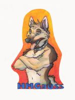 Commission: HMGauss Badge by SpiritCreations