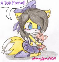.:AT:. OMG A Tails Plushie by Anna-LynnTH