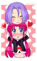 Kojiro Loves Musa-chan by Abie05