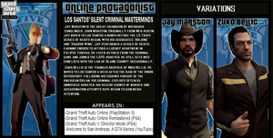 The Crossover Game: GTA Online Protagonists Bio by LeeHatake93