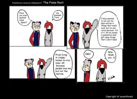 FOODink comic The Fame Rant by oozsinfered