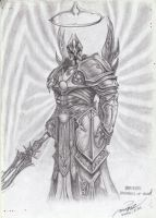 Imperius, the Archangel of Valor by magicz1988