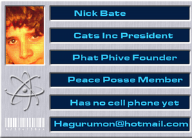 Lame ID Card of Nick Bate by Hagurumon