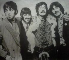 The Beatles 1967 by hunterpope