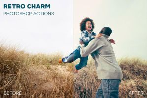 Retro Charm Photoshop Actions by photographypla-net