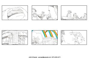 McDonald's Threemendous Storyboards 1 by gzapata