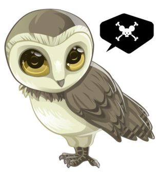 Chibi owl by Nade