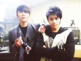 junhyung and yoseob by ShiisuKurayami