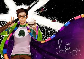 Homestuck:: Jake English redraw by Shilloshilloh