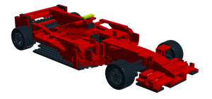 Lego F1 car design by Galbatore